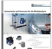 Sensoren und Instrumente für die Modalanalyse