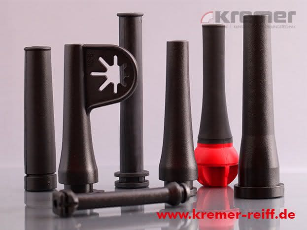 Werkzeuggebundene Formteile aus Gummi, Kunststoff und TPE